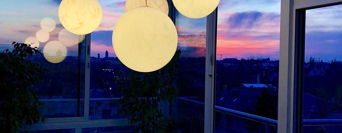 skybar by night